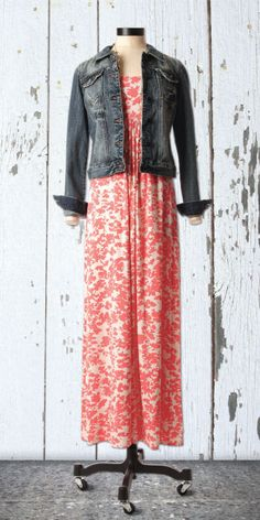 Cute maxi! Although it would be updated with a royal blue or white jacket. :)