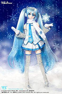 Amazon.co.jp | DD 雪ミク Dollfie Dream :初音ミク :スーパードルフィー:造形村 | ホビー 通販