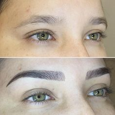 Perfect Eyebrows Made Easy With Semi Permanent Make Up Mircoblading Eyebrows, Eyebrows Goals, Permanent Makeup Eyebrows, Eyebrow Makeup, Eyebrow Wax, Eyebrow Embroidery, Perfect Brows, Best Eyebrow Products, Makeup Tattoos