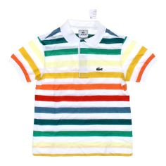 Lacoste New With Tags Colorful Polo Shirt, $7