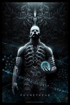 Prometheus poster by Marko Manev