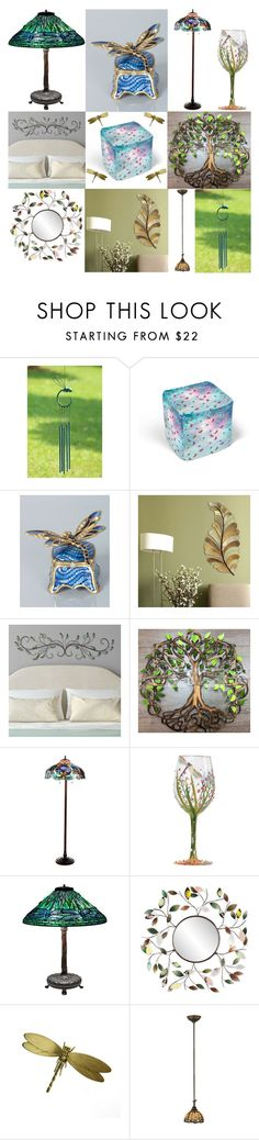 """""""Dragonfly decor & metal leaf wall art"""" by brooklynjadetoni ❤ liked on Polyvore featuring interior, interiors, interior design, home, home decor, interior decorating, Home Decorators Collection, Jay Strongwater, Stratton Home Décor and Chloé"""