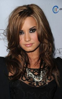 Hair Color Ideas for Brunettes with Highlights | http://awesome-hair-style-collections.blogspot.com