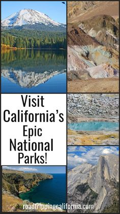Discover what to see and do in California's spectacular national parks! From icons like Yosemite to lesser known gems like Lassen Volcanic National Park, each of California's national parks is a must visit! #californiaadventure #californiatravel #roadtrip #nationalparks