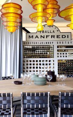 Can you already see what makes this micro business/restaurant different then others? How can you separate yourself from the usual presentation? Osteria Balla Manfredi / Luigi Rosselli
