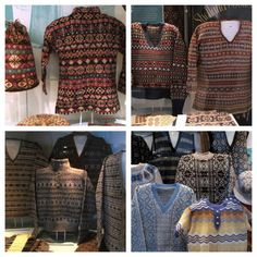 Handmade Sweaters From Shetland Islands
