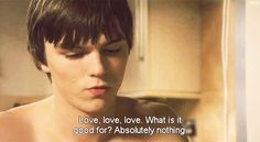Absolutely nothing. Movie Quotes, Life Quotes, Qoutes, Skins Generation 1, Dramas, Cassie Skins, Skins Uk, Nicholas Hoult, Pretty Images