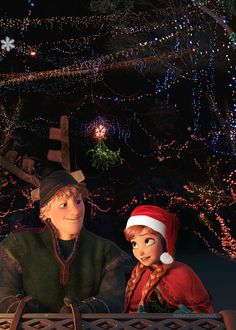 Kristoff and Anna on a Christmas sleigh ride ♥ Pixar Movies, Disney Films, Disney And Dreamworks, Movie Characters, Disney Pixar, Disney Style, Disney Love, Disney Frozen, Frozen Christmas