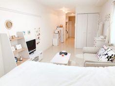 Apartment Bedroom Decor, Room Design Bedroom, Bedroom Layouts, Small Room Bedroom, Room Ideas Bedroom, Apartment Interior, Home Interior, Home Design, Small Room Design