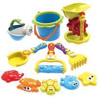 Multi-color Cartoon Style Pretend Play Beach Toys Set