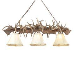 Coues Antler Pool Table Light