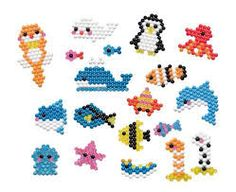 Silk cat aquabeads template megan 39 s hobbies pinterest for Free beados templates