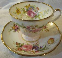 Vintage Foley Teacup and Saucer