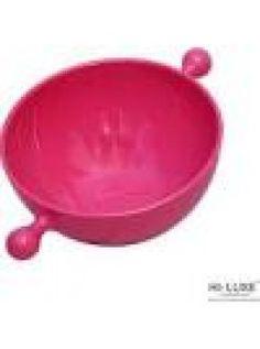 Buy Hi Luxe Snack Bowl Handle 1Pc, Pink-00295B online at happyroar.com