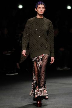 "THE ""IS SHE DRINKING AGAIN?"" LOOK--GIVENCHY FW13"