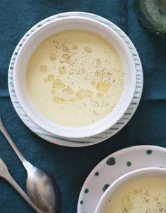 Soupe de pois cassés au lait de coco pour 2 personnes - Recettes Elle à Table