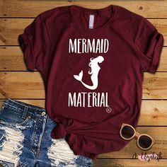 J.Elizabeth  Summer life, Mermaid life, fun tee, cute tshirts  www.3boymom.jelizabethboutique,com