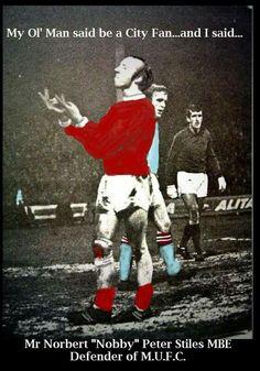 Nobby Stiles Manchester United.....