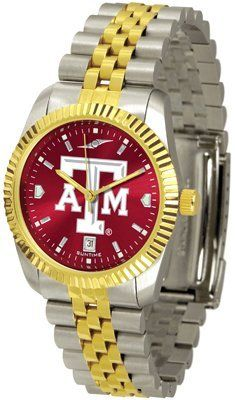 Texas A University Aggies Executive Anochrome - Men's - Men's College Watches by Sports Memorabilia. $153.47. Makes a Great Gift!. Texas A University Aggies Executive Anochrome - Men's