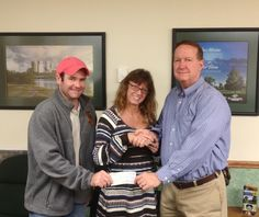River Parks Receives $5,000 Donation from Local Run