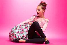 ♡ On Pinterest @ kitkatlovekesha ♡ ♡ Pin: TV Show ~ Dance Moms ~ Maddie Ziegler's Photoshoot for Capezio ♡