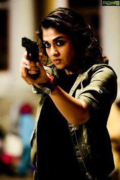 Nayanthara  Imaikkaa Nodigal  hd  gun  tamil actress Actress Nayanthara 2018 Cute Images
