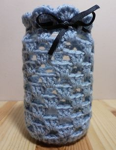 Granny jar cover pattern