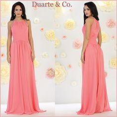 7dd0d531a8 Chiffon Strapless Bridesmaid Dress W Plus Sizes - MQ875