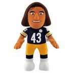 """Pittsburgh Steelers.14"""" Player Plush Toy.Fabric is 100% Poyester Fiber."""