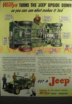 Jeep – Willys Turns the Jeep Upside Down (1946)