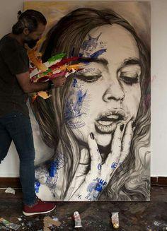 Fabulous Artworks by Spanish Artist Gabriel Moreno's Illustrations website: www.gabrielmoreno.com