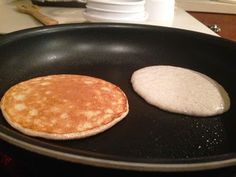 No-flour pancakes. Actually quite yummy. Used banana in stead of cottage cheese- Slade loved it. Will make again.