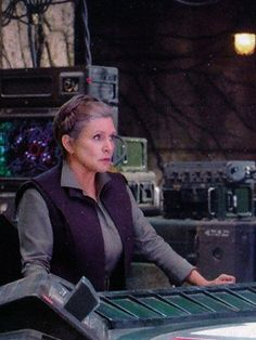 General Leia Organa from Star Wars Episode 7 The Force Awakens