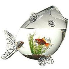 Cool fish bowl or vase! Aquarium Original, Image Pinterest, Glass Fish Bowl, Objet Deco Design, Mermaid Bedroom, Cool Fish, Pretty Fish, My New Room, Aquarium Fish