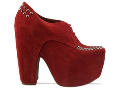 Hot red Jeffrey Campbell's :)