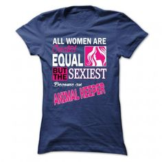 All women are created equal but the sexiest become an Animal Keeper