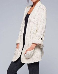 The cable cardigan for fall we've been searching for!