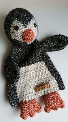 Pinguïn lappenknuffel