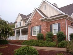 Modern Exterior Trim traditional brick ranch homes with great exterior trim colors