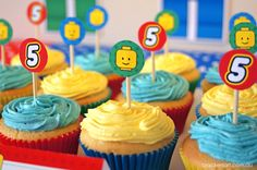 Harvey 5 ° compleanno - Tema Lego Inspired