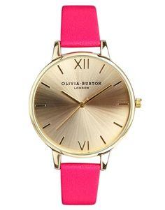My Top Pick <3 Olivia Burton Neon Pink Big Dial http://asos.to/SDtKCQ