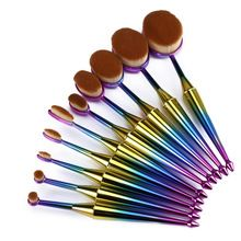 Mermaid Style Makeup Brushes!