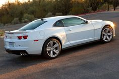 Camero in white, this little jewel shall be mine...someday.........????.....maybe??????
