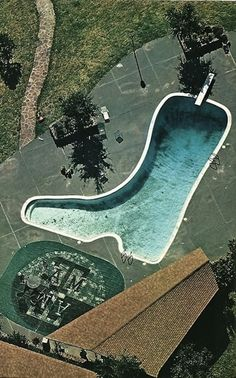 Boot Shaped Pool