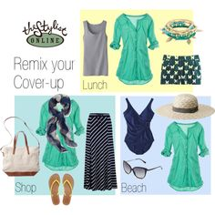 """Cruise wear - remix your cover-up"" by thestylistonline on Polyvore"