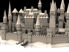 This is a high res model of a castle/sandcastle. Minecraft Blueprints, Minecraft Designs, Medieval Castle, Medieval Fantasy, Ancient Architecture, Art And Architecture, Castle Cartoon, Calligraphy Nibs, Spaceship Concept