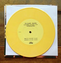 Elliott Smith - either/or Alternative Versions on yellow vinyl RSD 2013 Side A