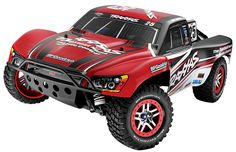 Traxxas RTR Slash 4X4 Ultimate VXL 2.4GHz with 7 Cell Battery and Charger - 1:10 Slash 4X4 Ultimate exploits the Traxxas recipe for Ready-To-Racer performance at the highest level by combining a fully loaded Slash 4X4 Platinum Edition with Traxxas' latest 2.4Ghz radio system and powerful high-capacity 7-cell battery pack.