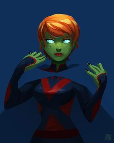 Young Justice Fan Art — jeffrymazon: Miss Martian sketch! Thanks!