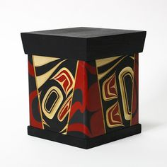 Lattimer Gallery - James Michels - Bentwood Box - Eagle